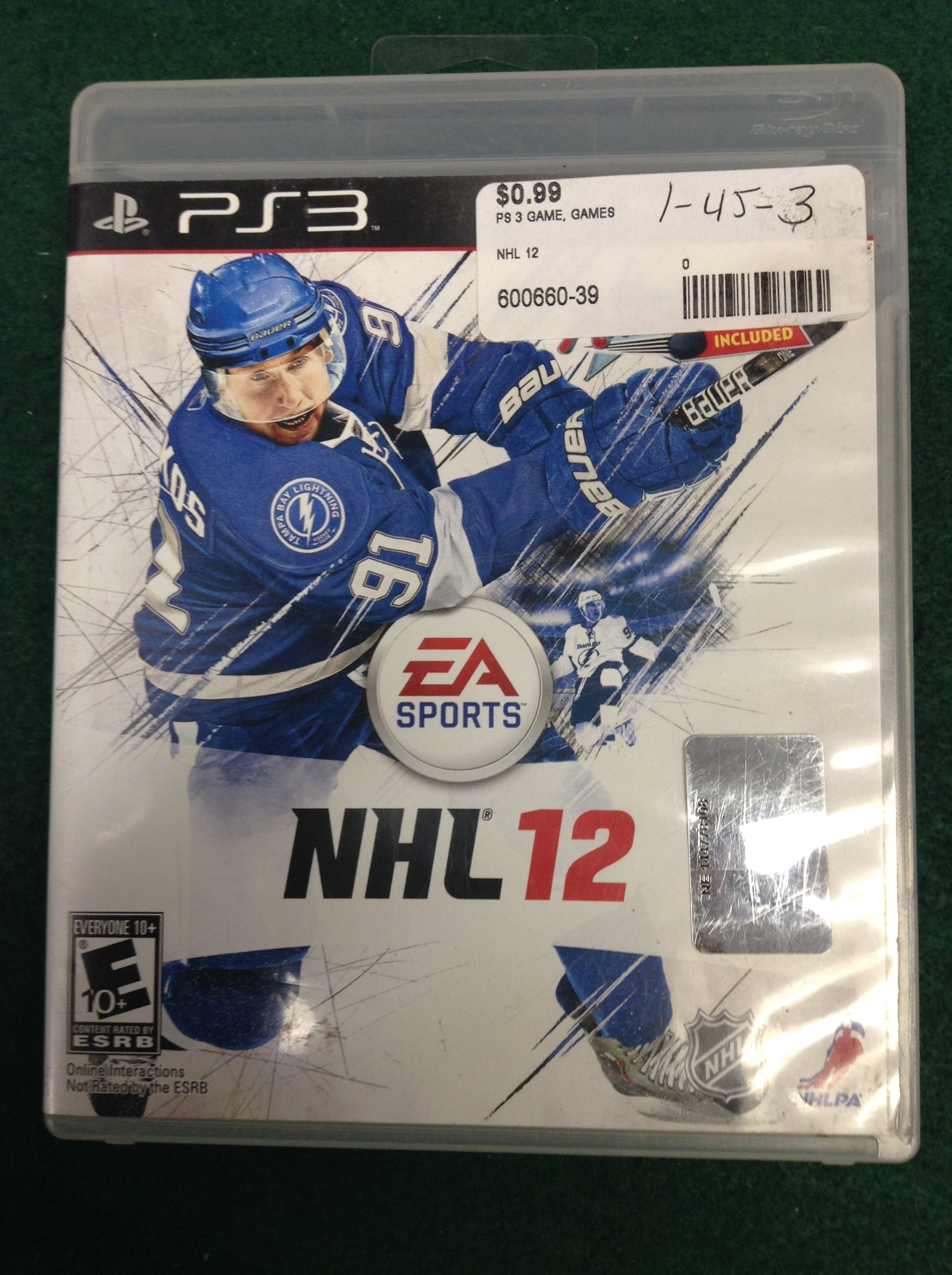 NHL 12 FOR PS 3