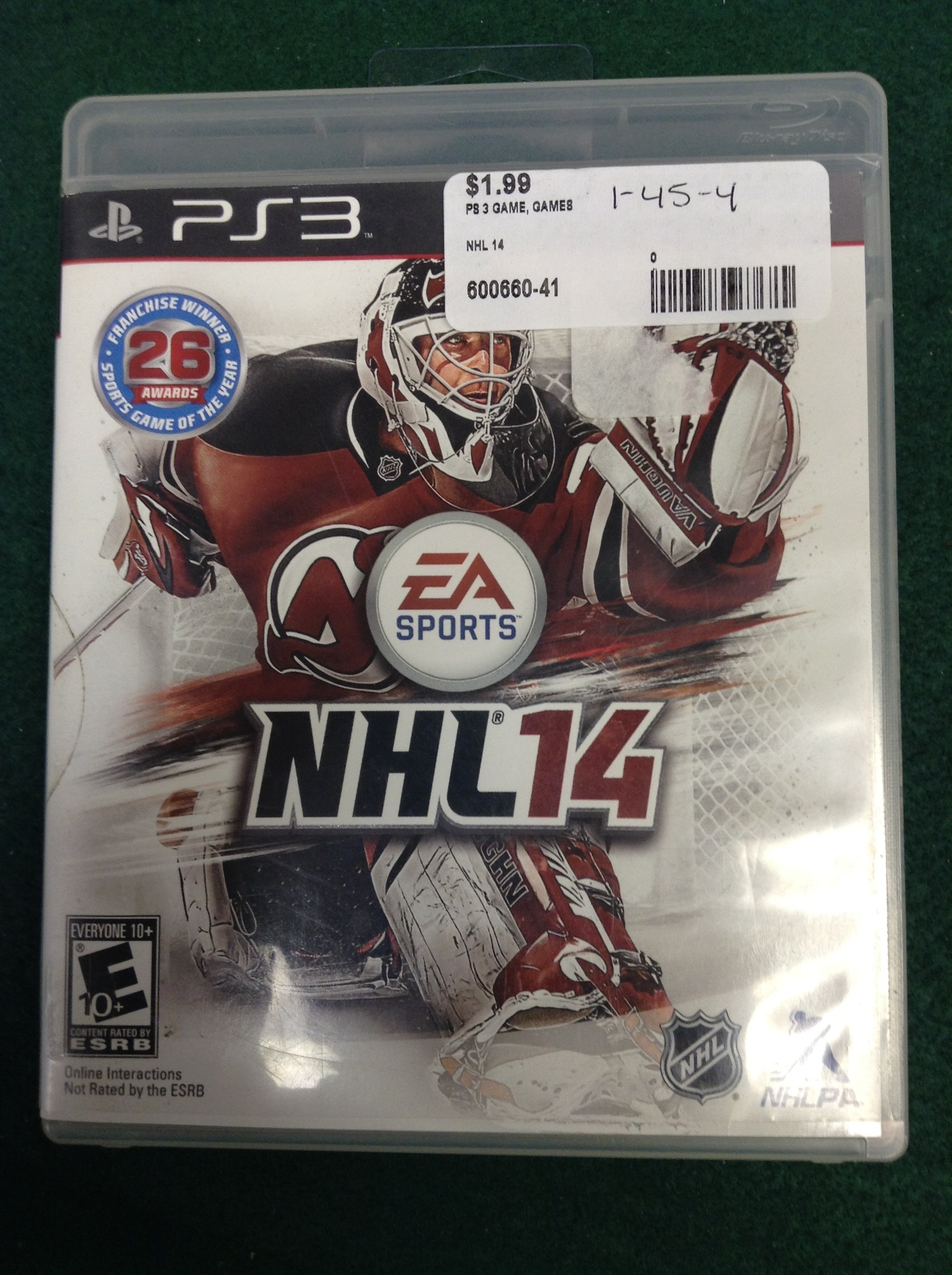 NHL 14 FOR PS 3