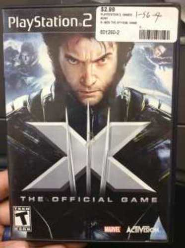 X-MEN III THO OFFICIAL GAME