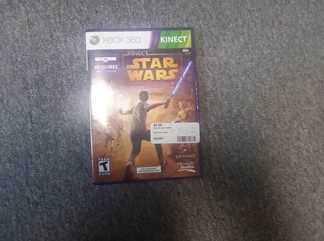 KINECT STAR WARS - XBOX 360 GAME
