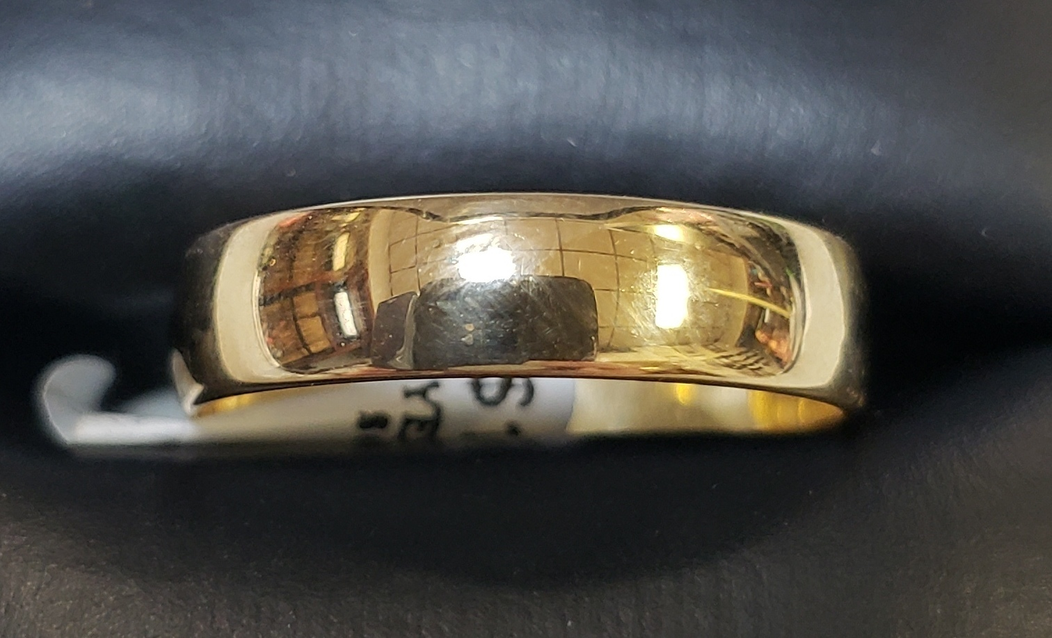 14KT - YELLOW GOLD - SIZE 9.5 - 3/16