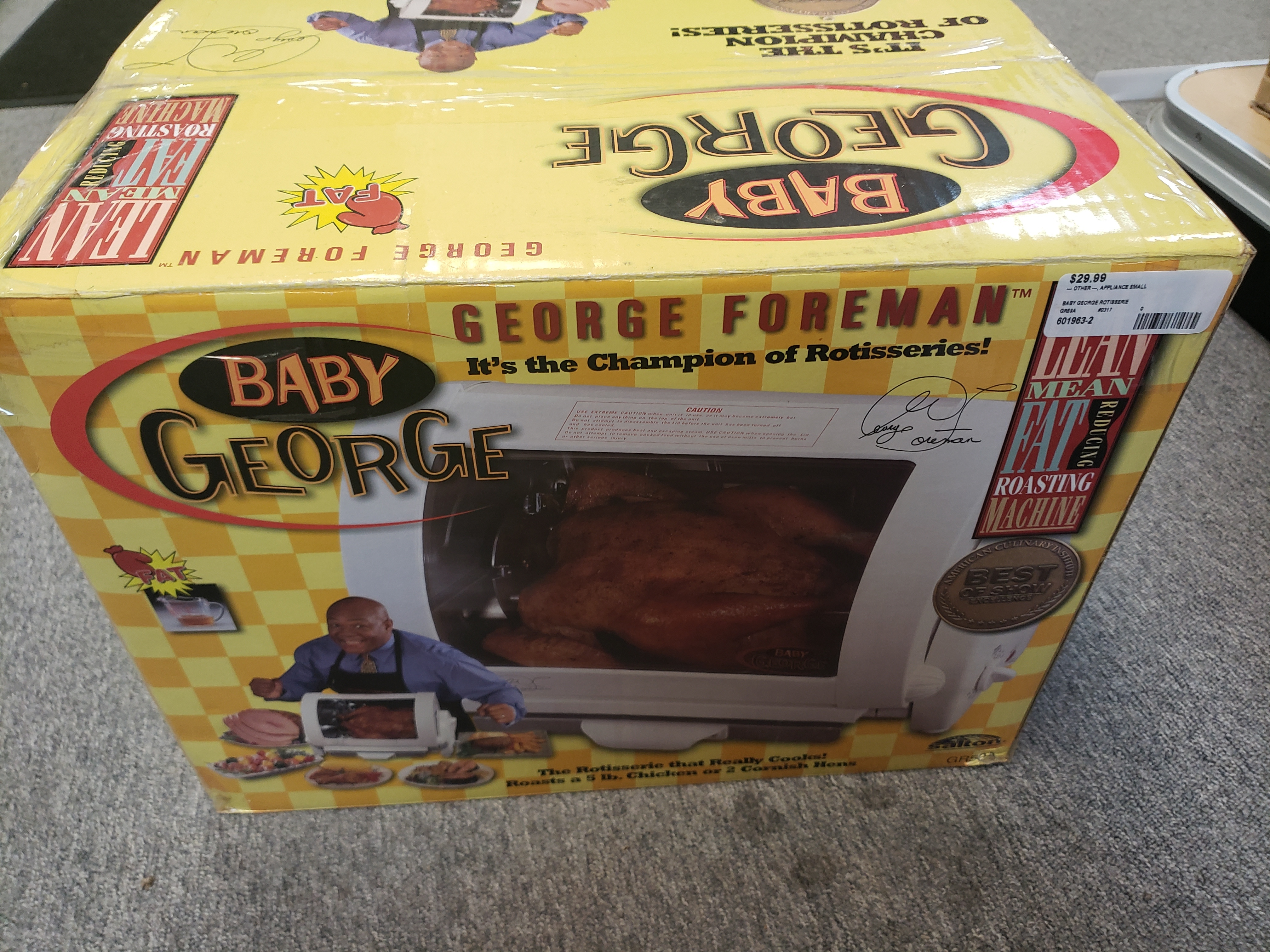 BABY GEORGE ROTISSERIE COOKER - GR59A