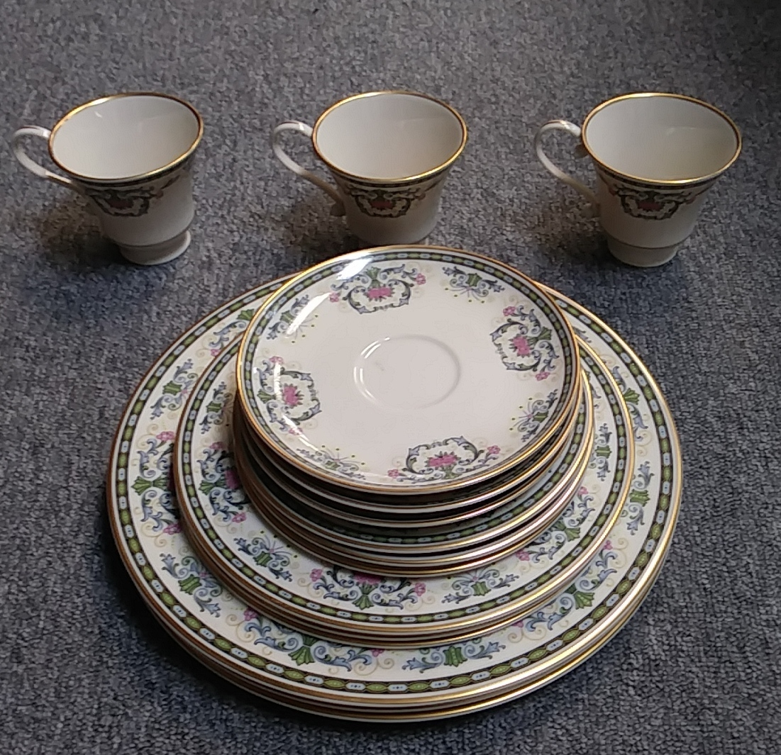PICKARD NAVARRE CHINA 15 PC SET