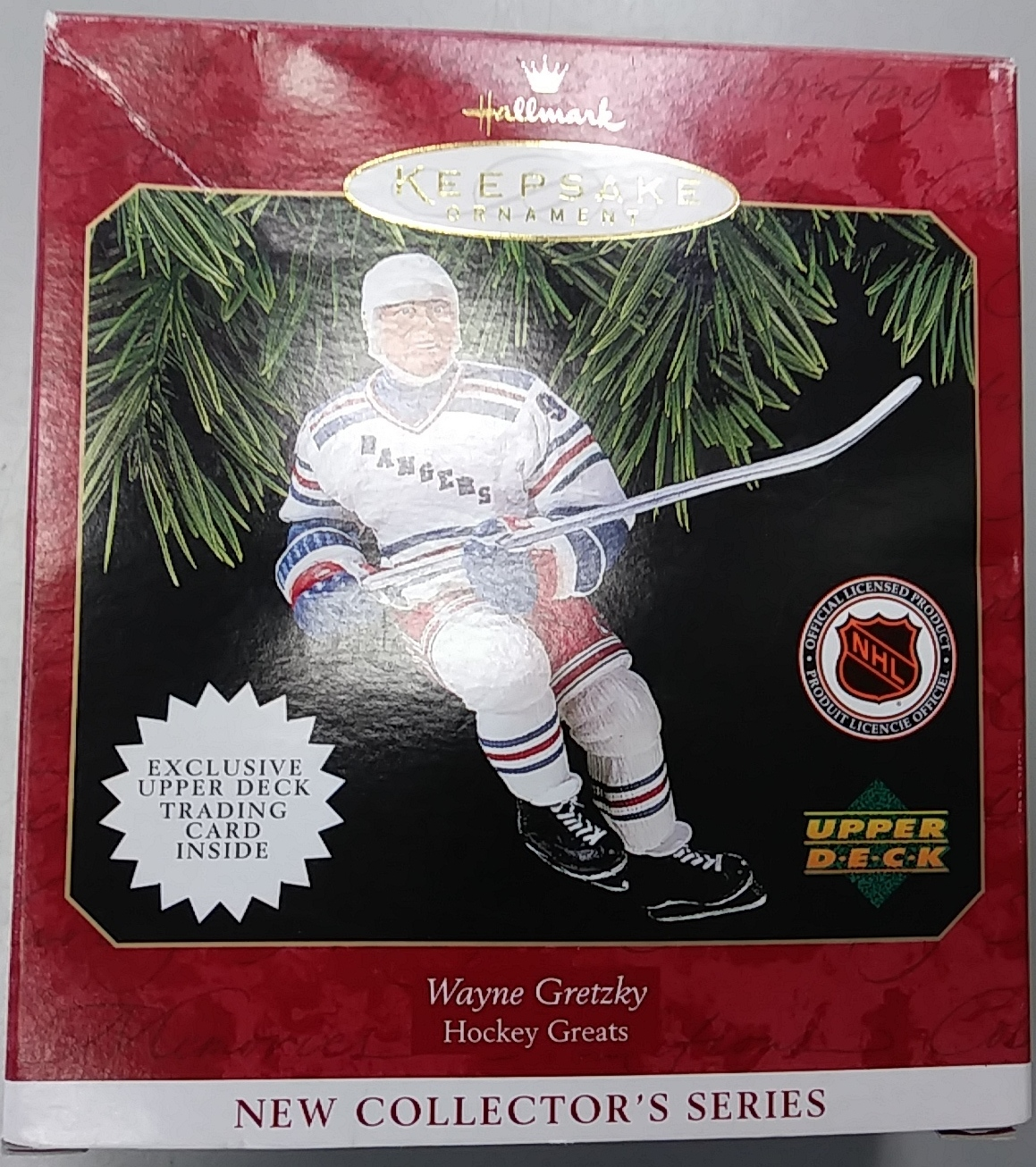 WAYNE GRETSKY ANTIQUE ORNAMENT