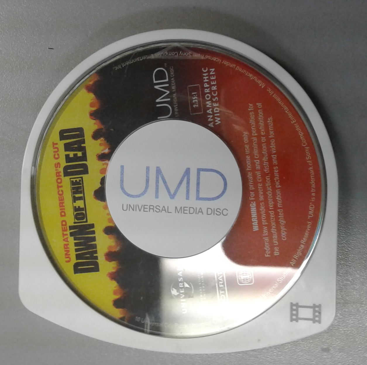 DAWN OF THE DEAD- UMD CD