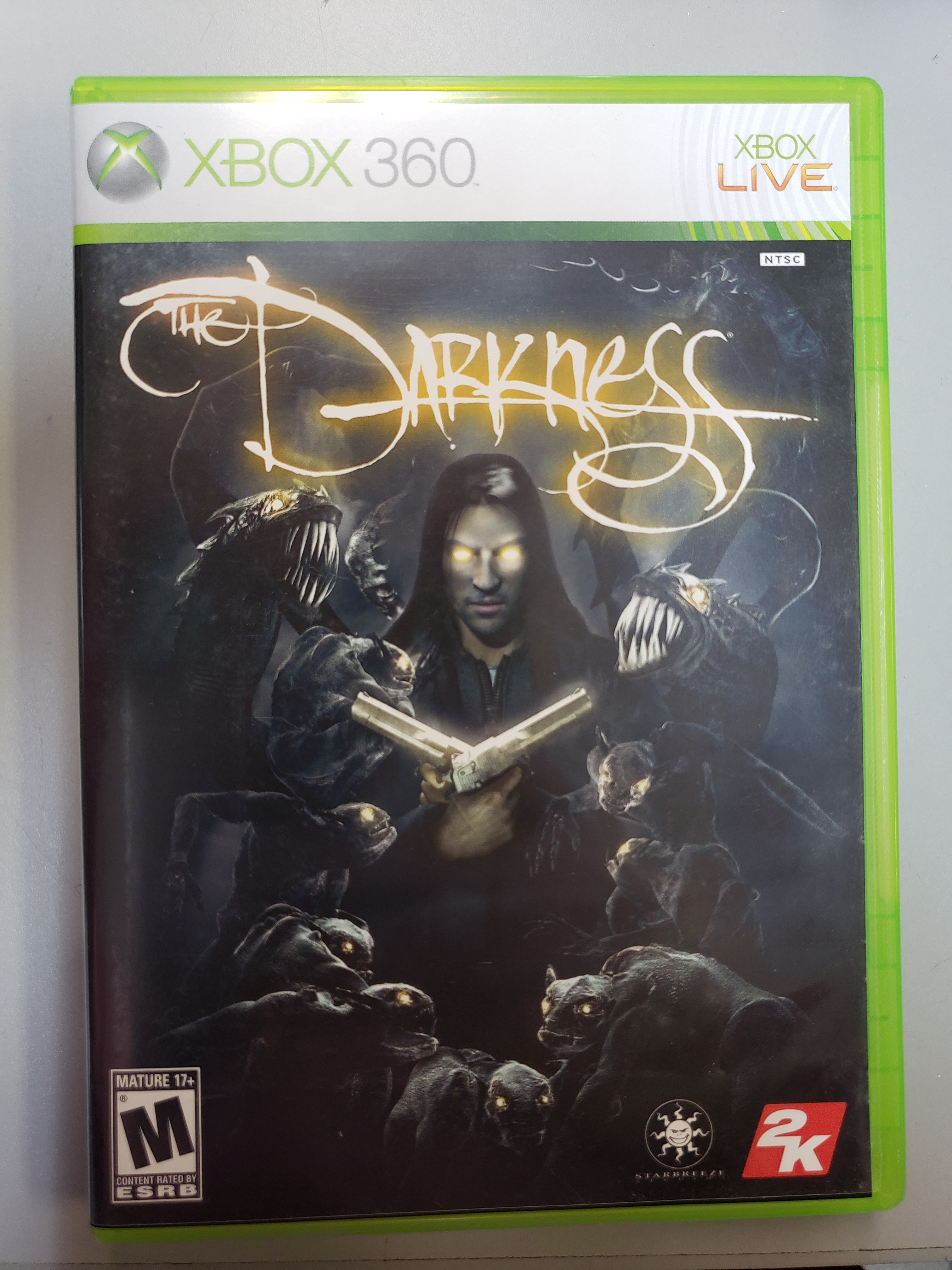 THE DARKNESS - XBOX 360 GAME