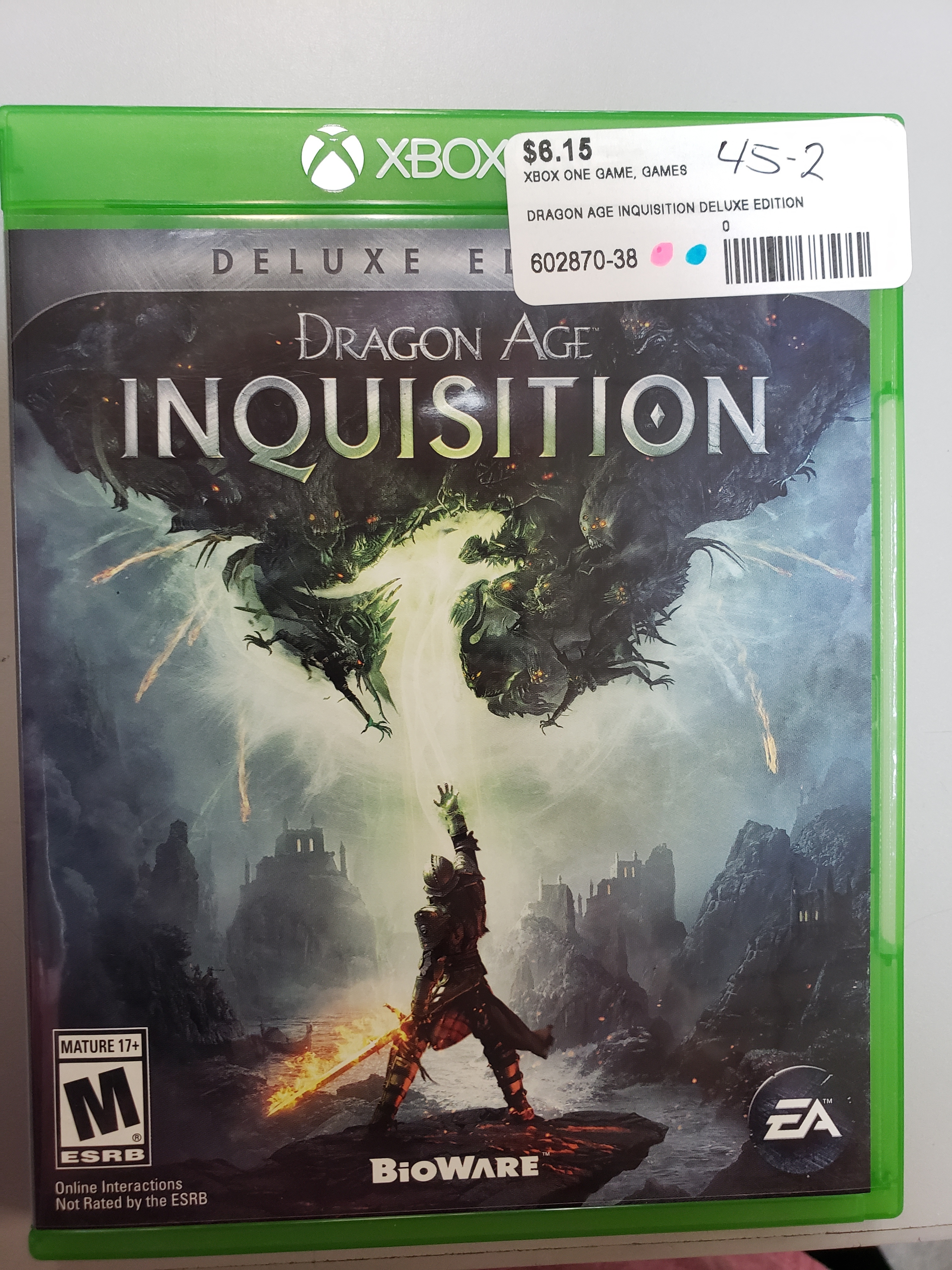 DRAGON AGE INQUISITION DELUXE EDITION - XBOX ONE GAME