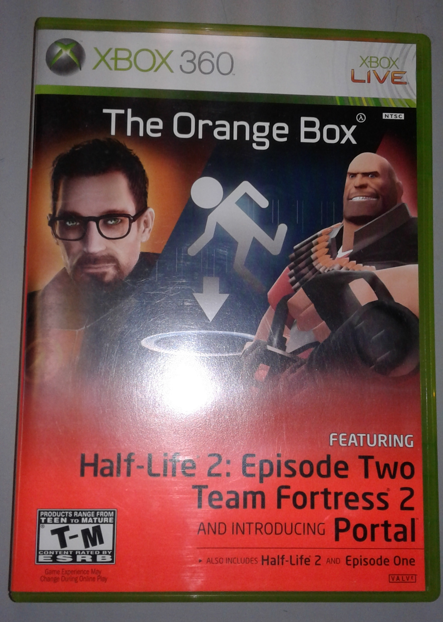 THE ORANGE BOX- HALF-LIFE 2: EPISODE 2 TEAM FORTRESS 2 PORTAL