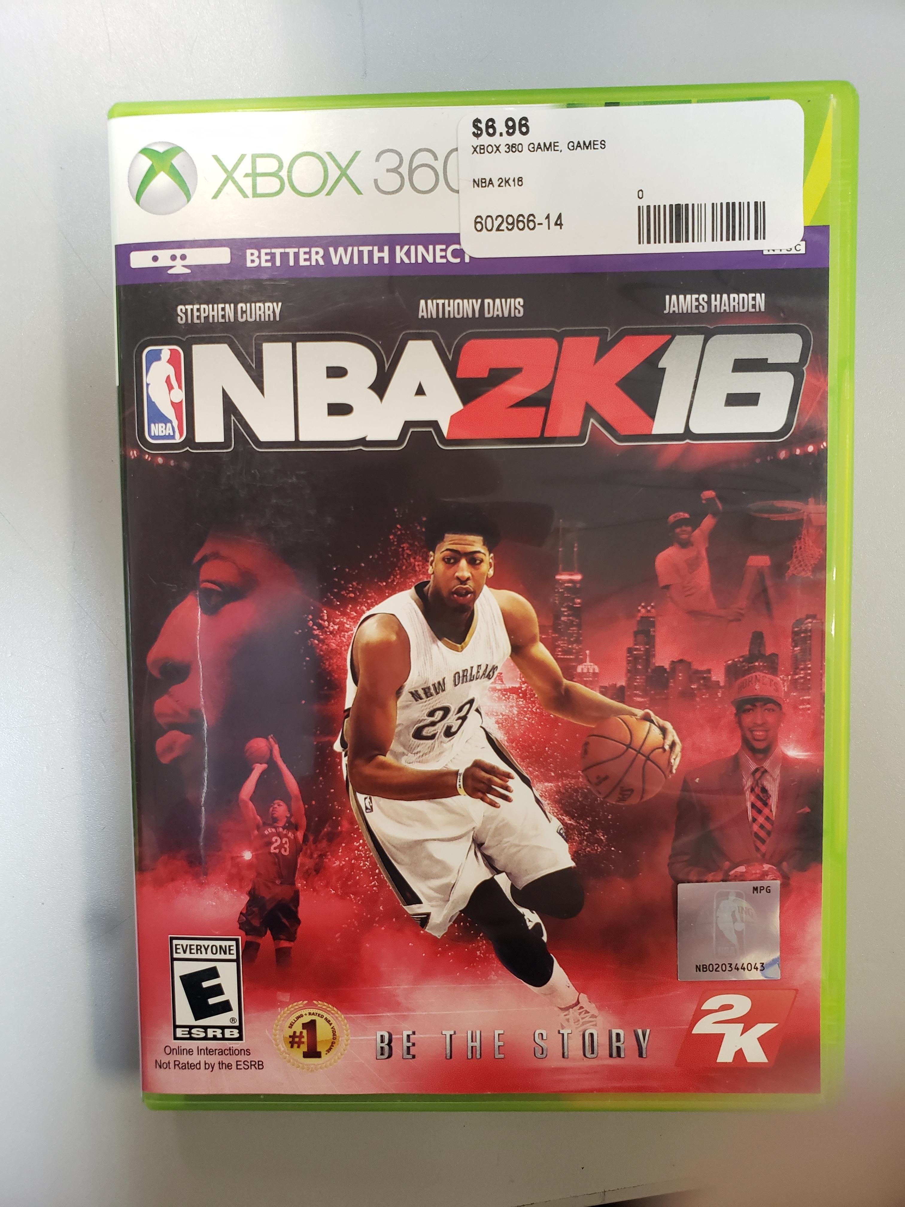 NBA 2K16 - XBOX 360 GAME
