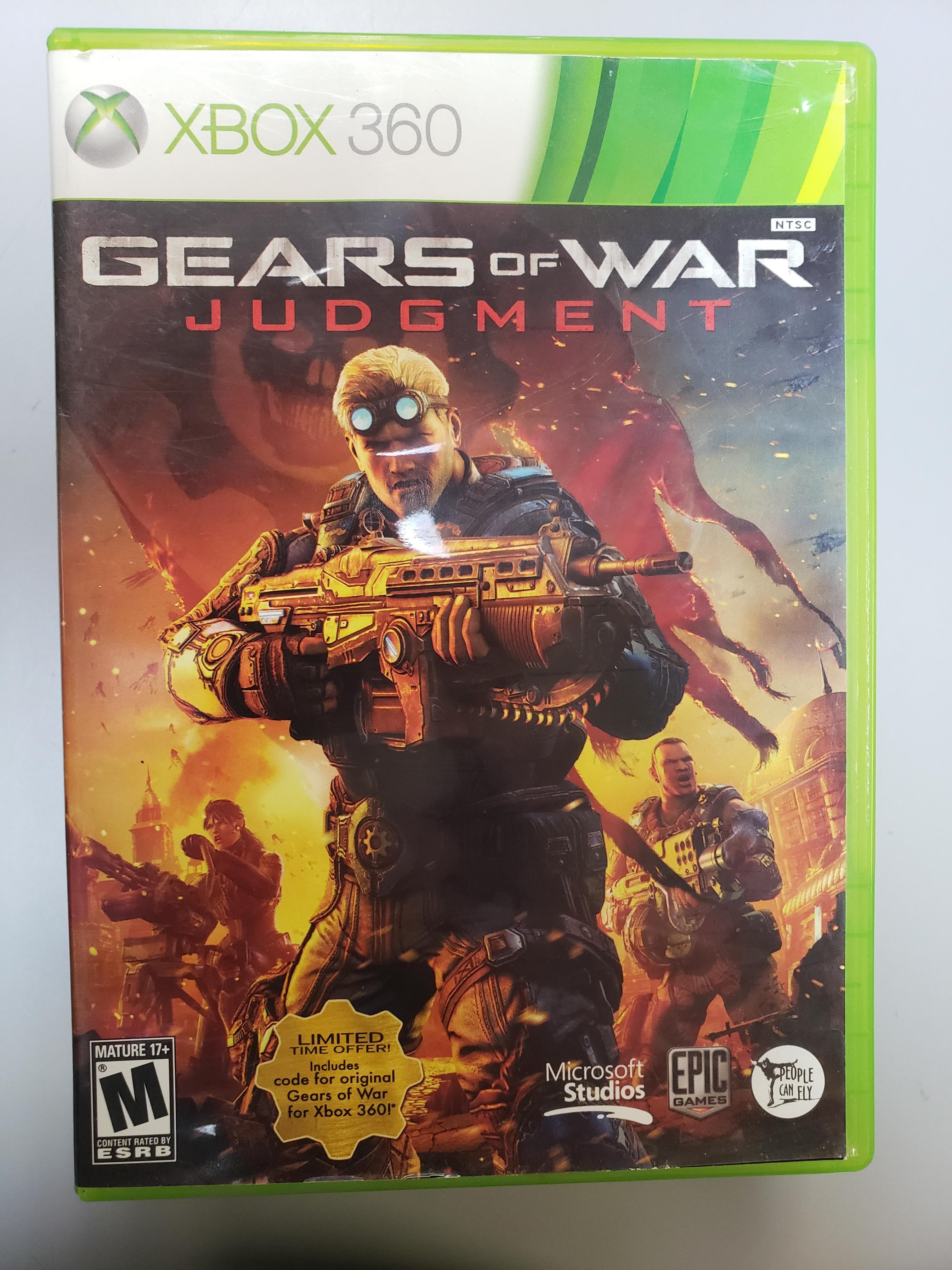 GEARS OF WAR: JUDGEMENT - XBOX 360 GAME