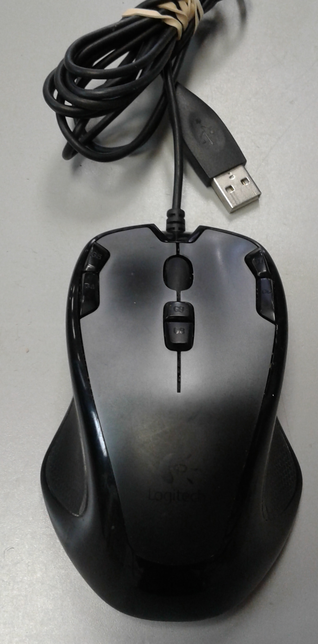 LOGITECH G300 RED MOUSE
