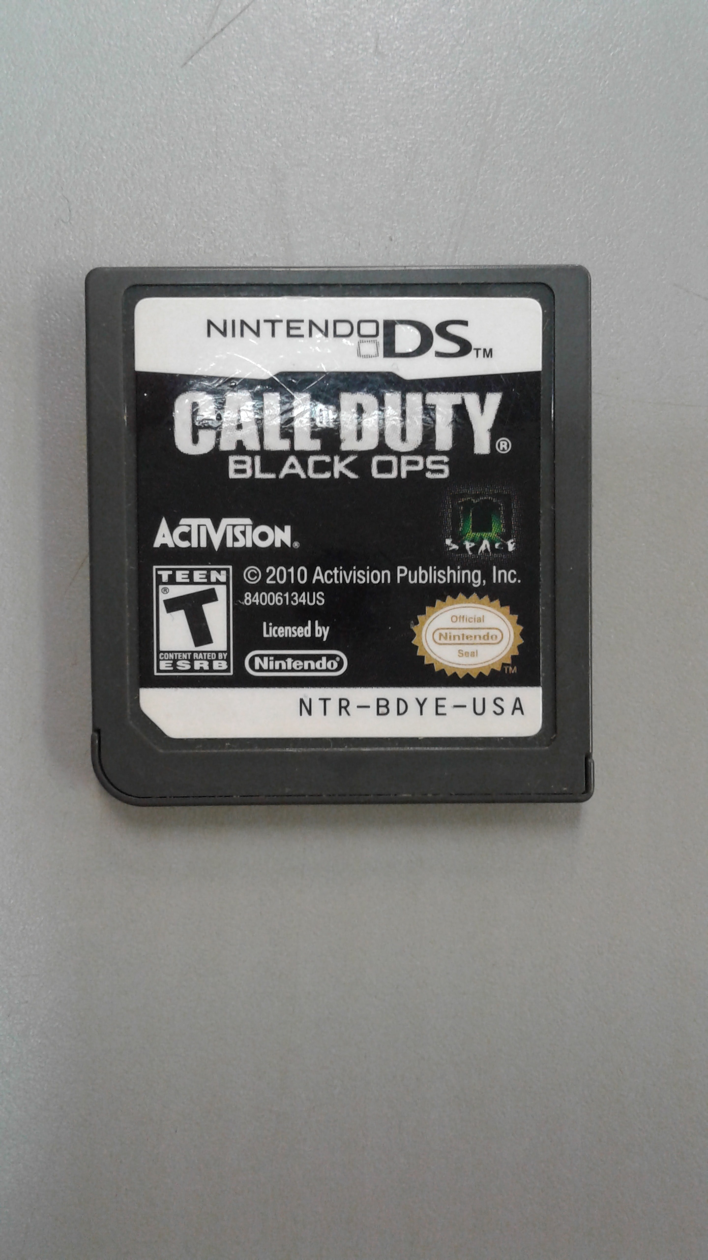 CALL OF DUTY: NINTENDO DS GAME