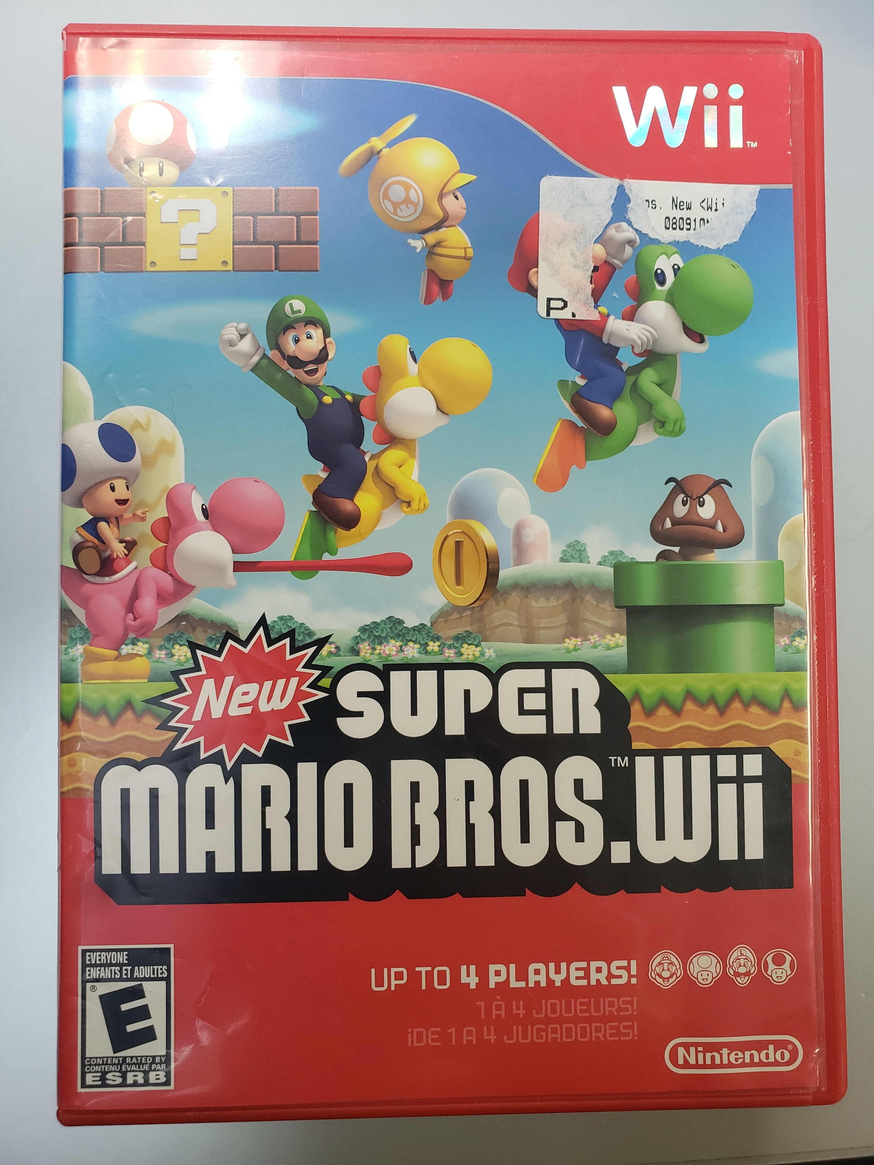 NEW SUPER MARIO BROS WII - WII GAME