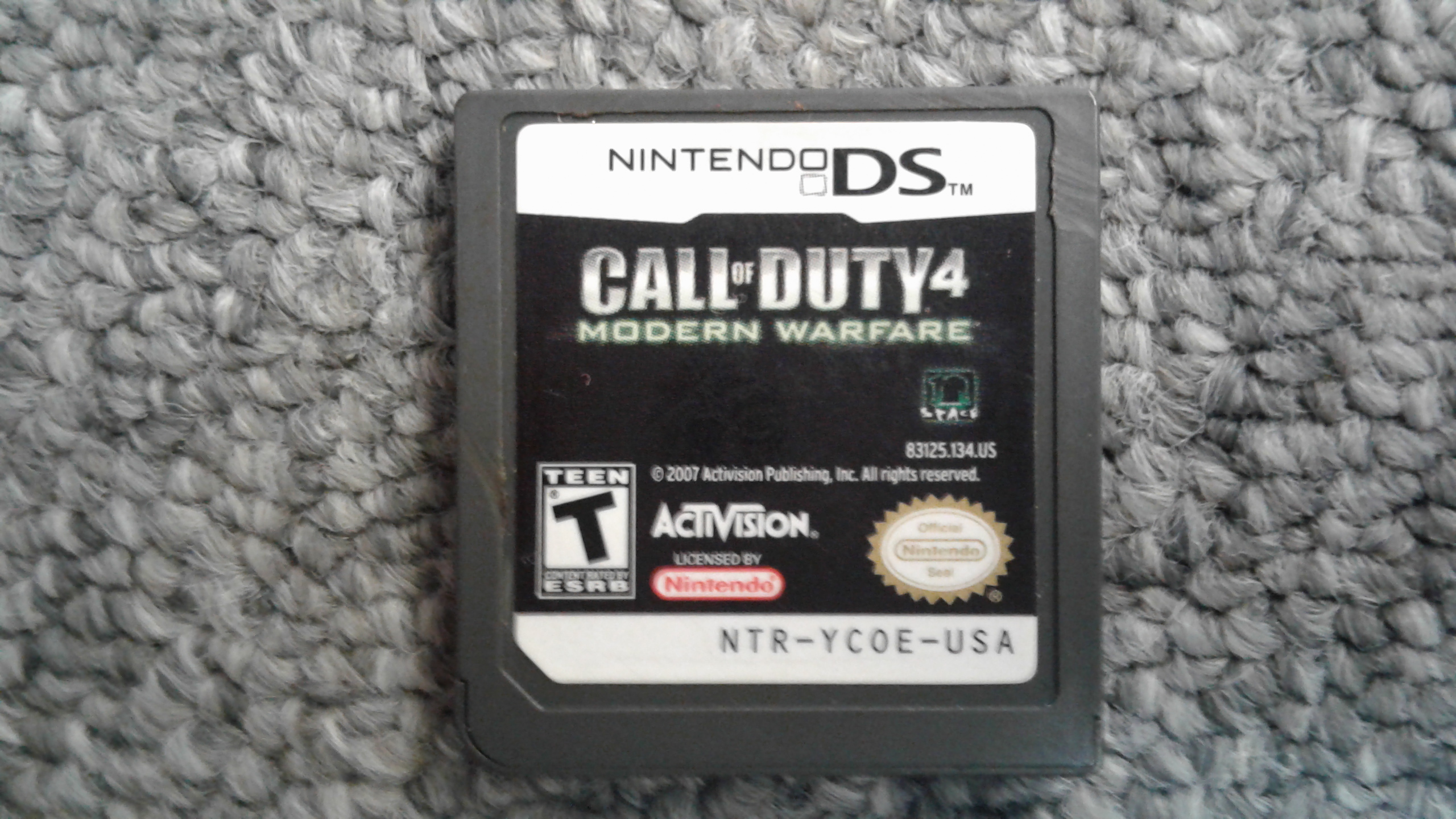 Call of Duty 4 Modern Warfare, Nintendo DS Game