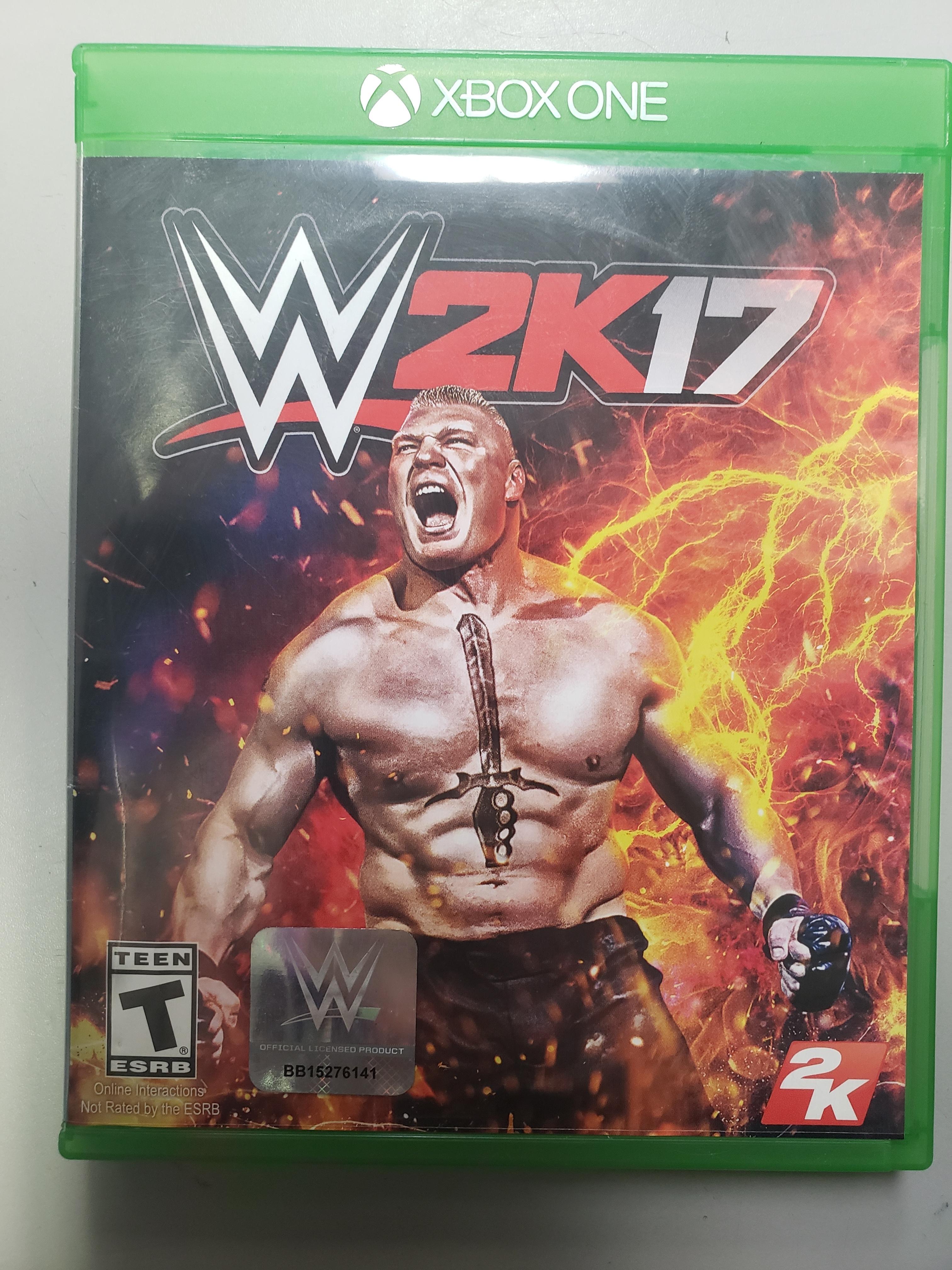 W2K17 - XBOX ONE GAME