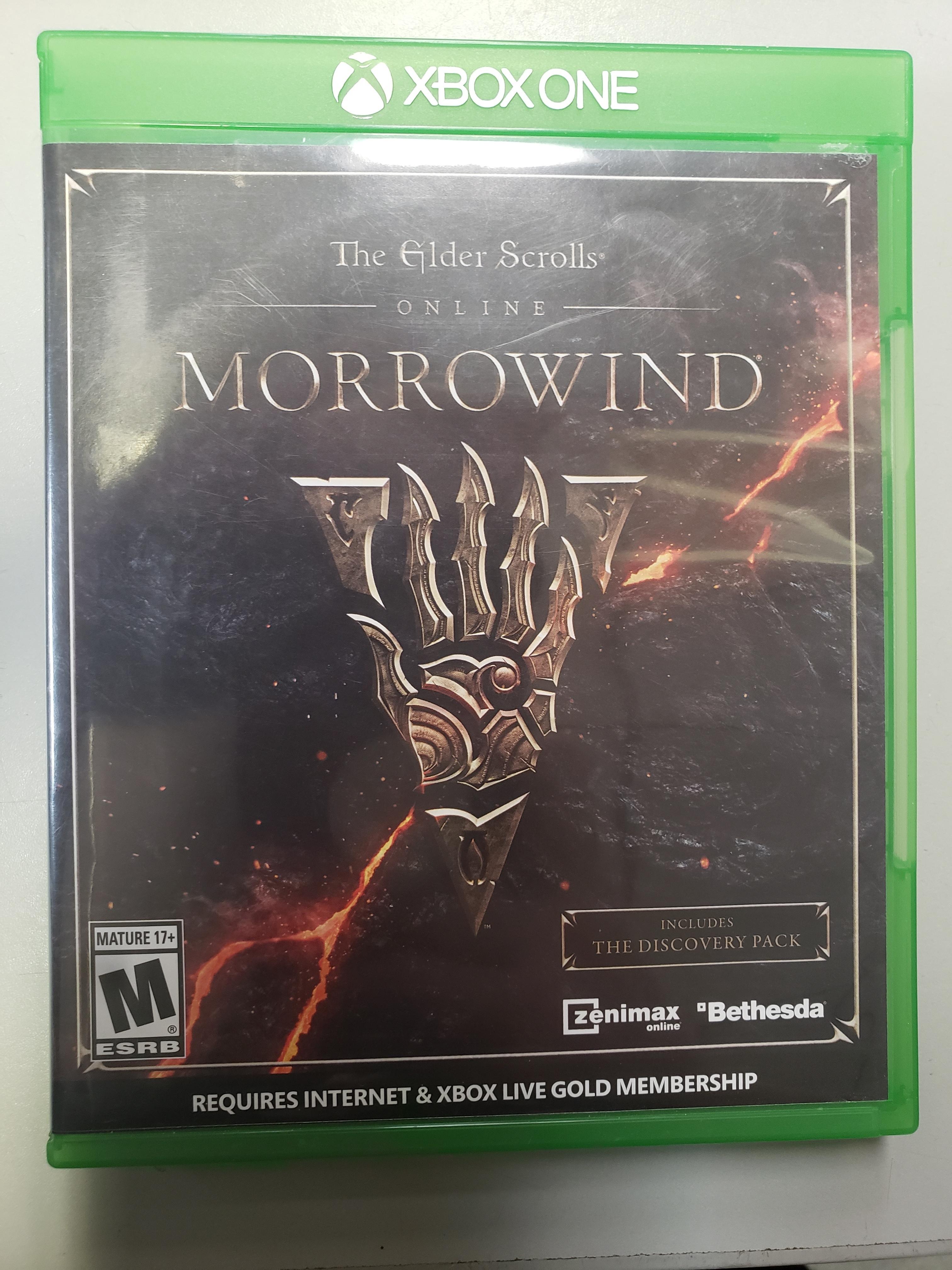 THE ELDER SCROLLS ONLINE: MORROWIND - XBOX ONE GAME