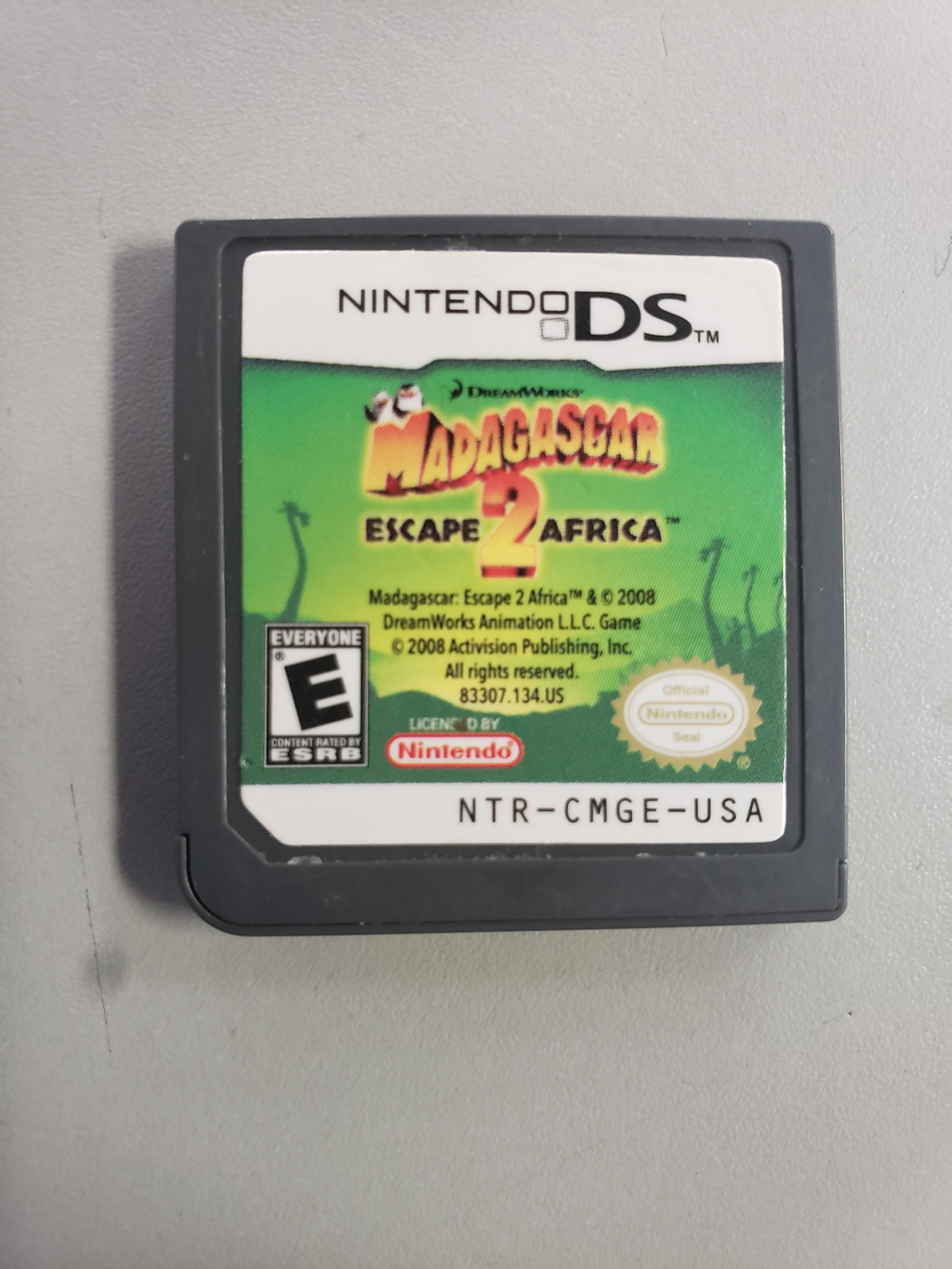 MADAGASCAR 2 - NINTENDO DS GAME