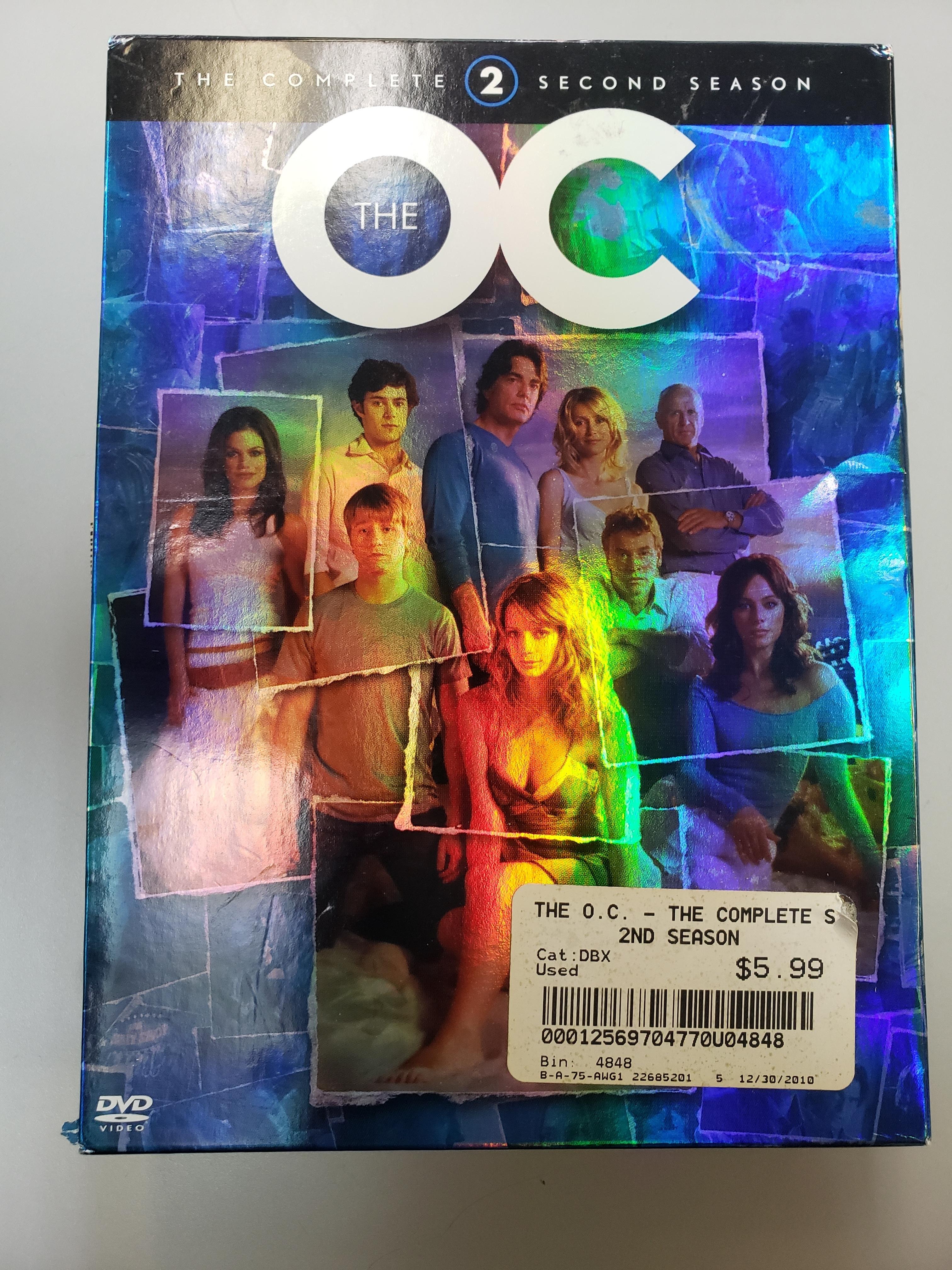 THE OC: SEASON TWO DVD BOX SET
