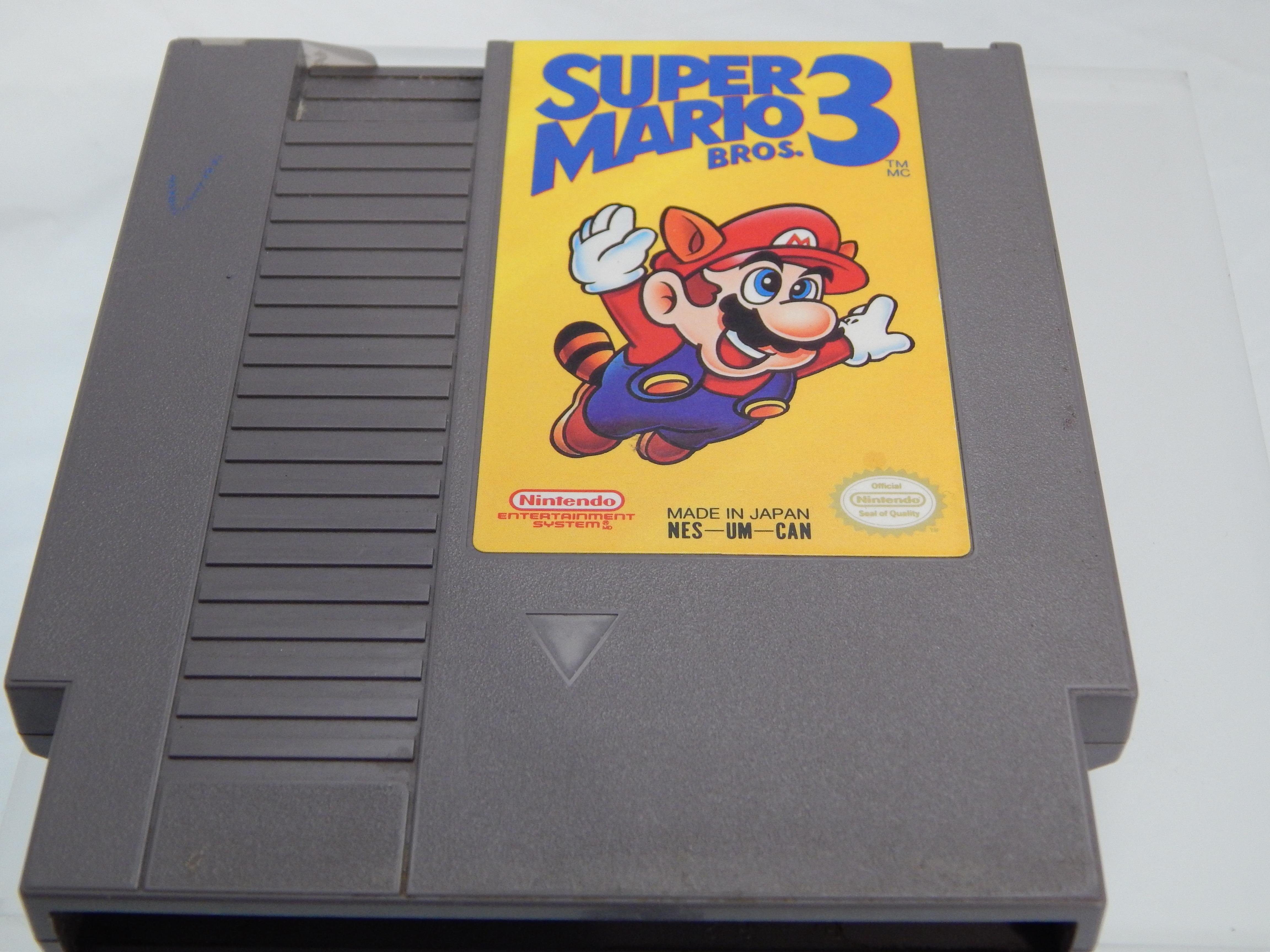 NES GAME SUPER MARIO BROS. 3