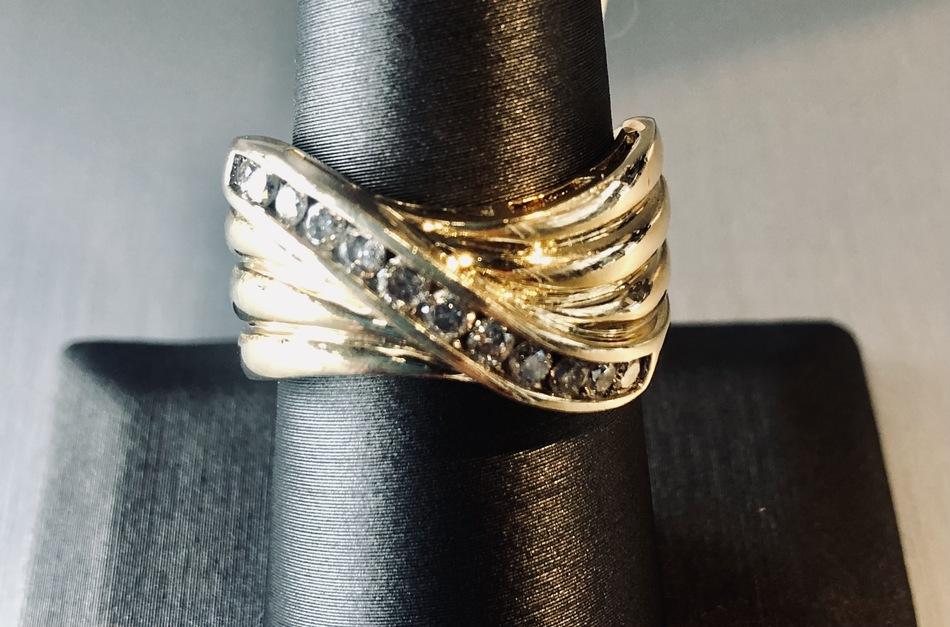 RING JEWELRY DIAMOND BAND