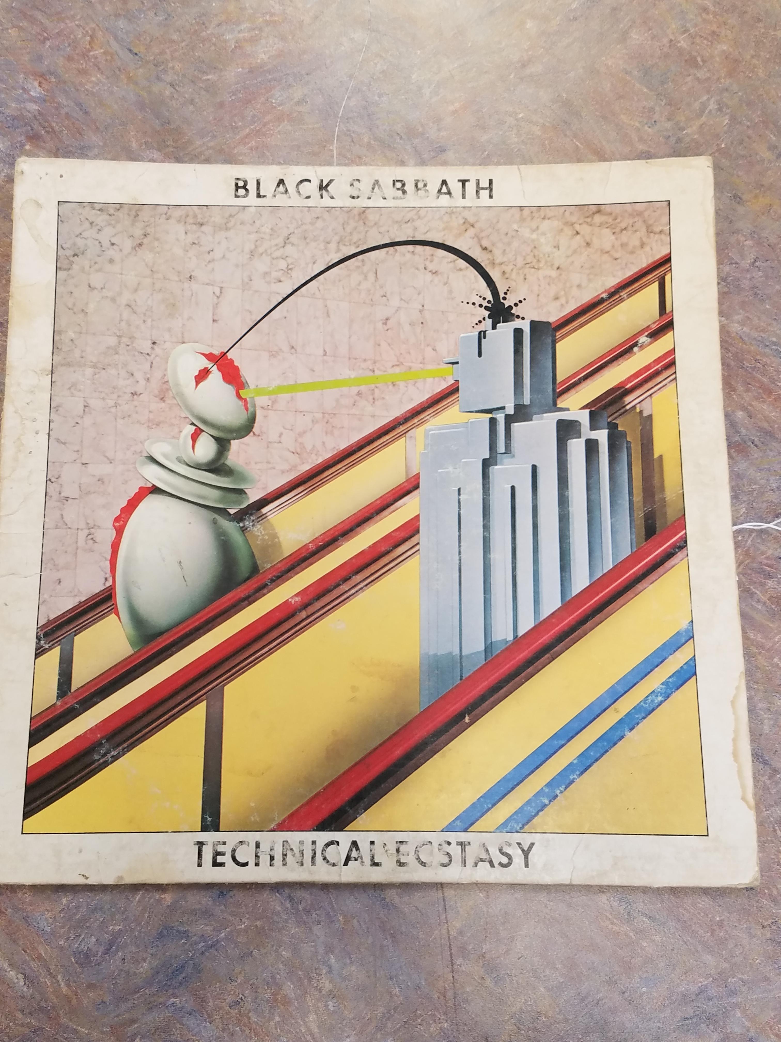 BLACK SABBATH TECHNICAL ECSTASY RECORD