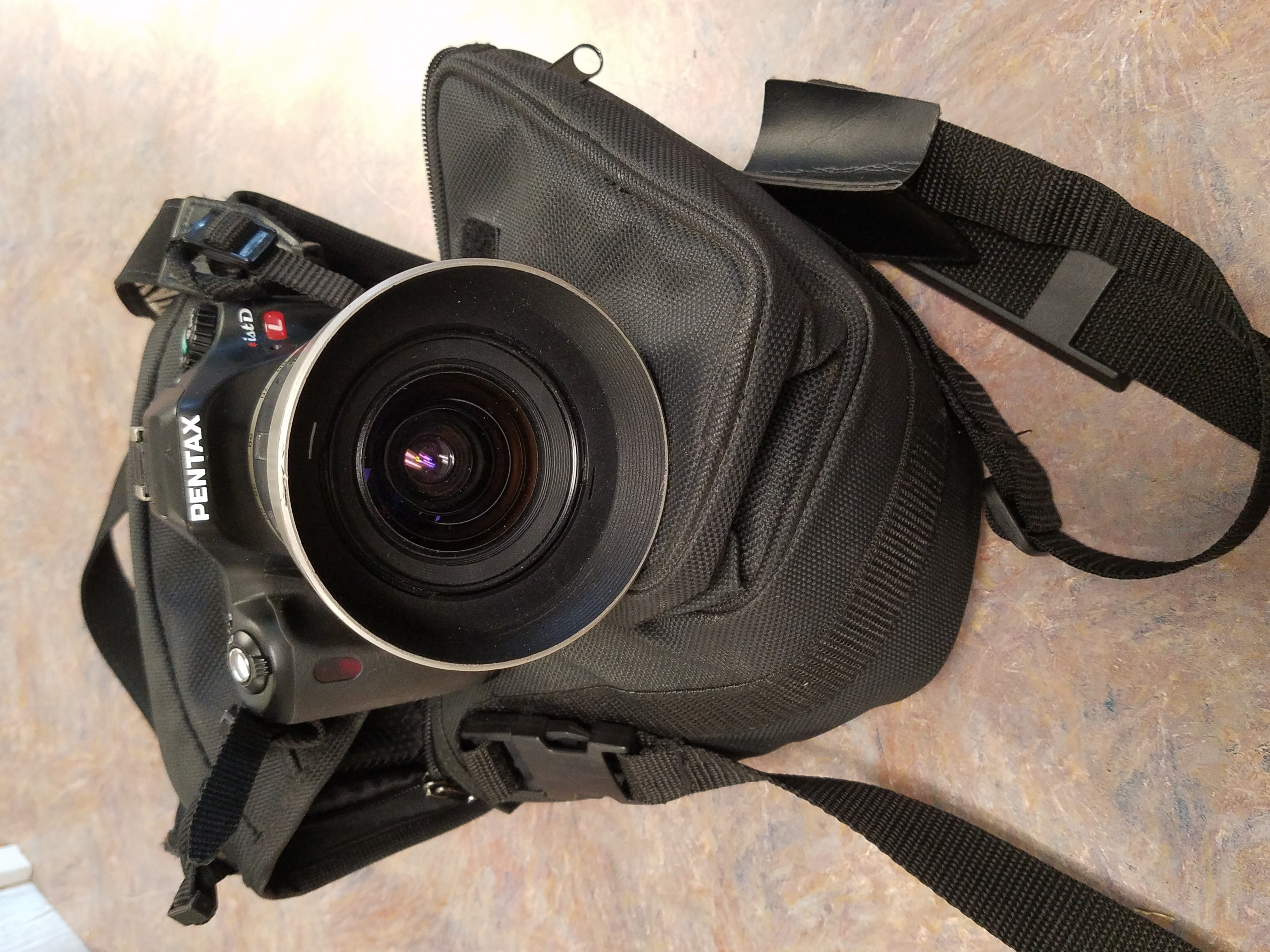 PENTAX -IST DL WITH TAMRON LENS