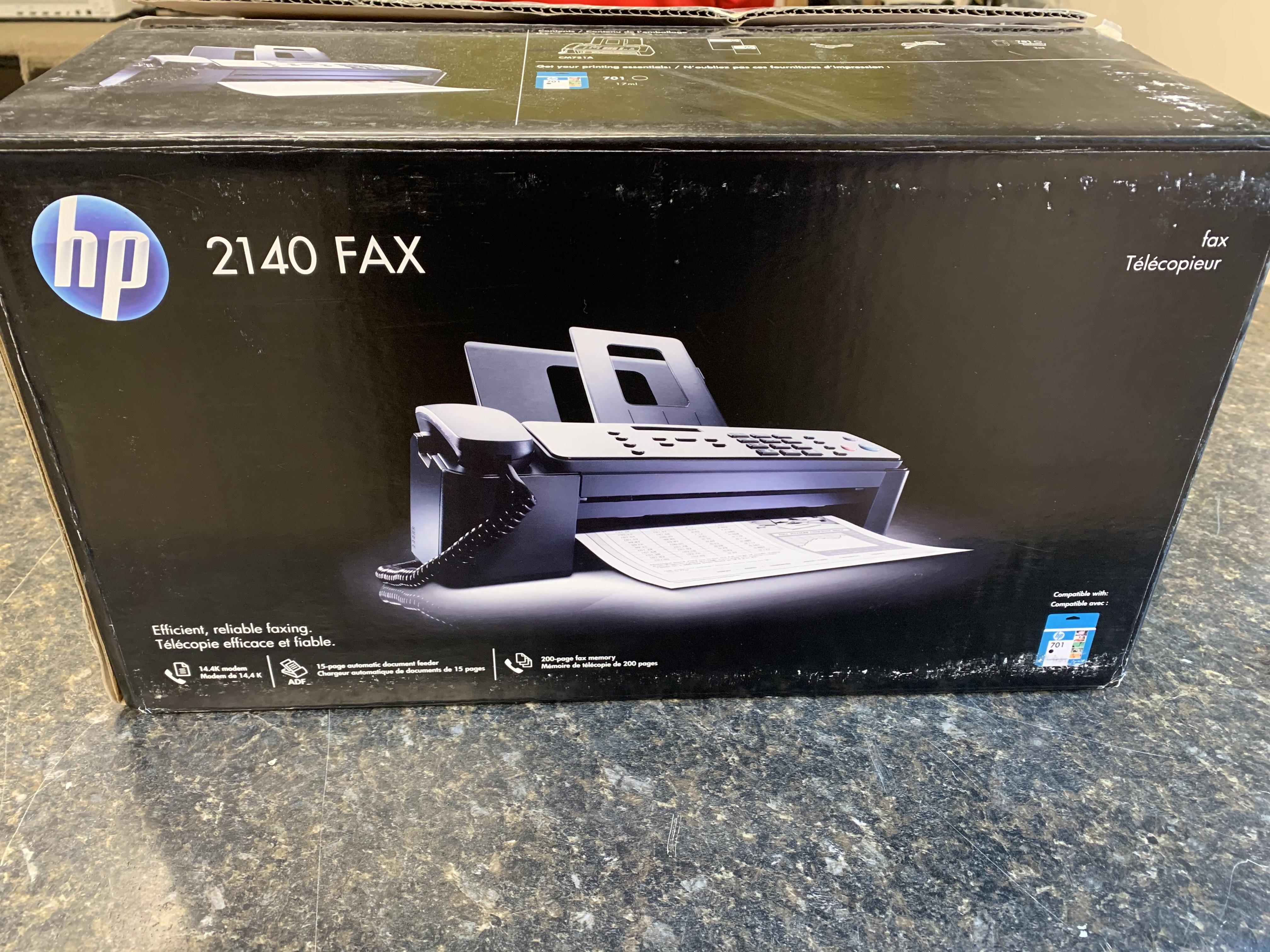 HEWLETT PACKARD 4120 FAX MACHINE IN BOX