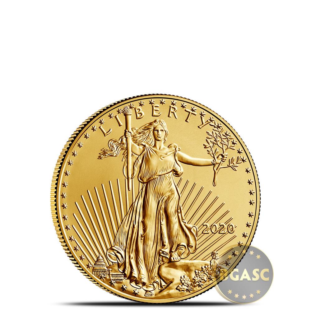 1/10 oz American Gold Eagle BU (Random Year)