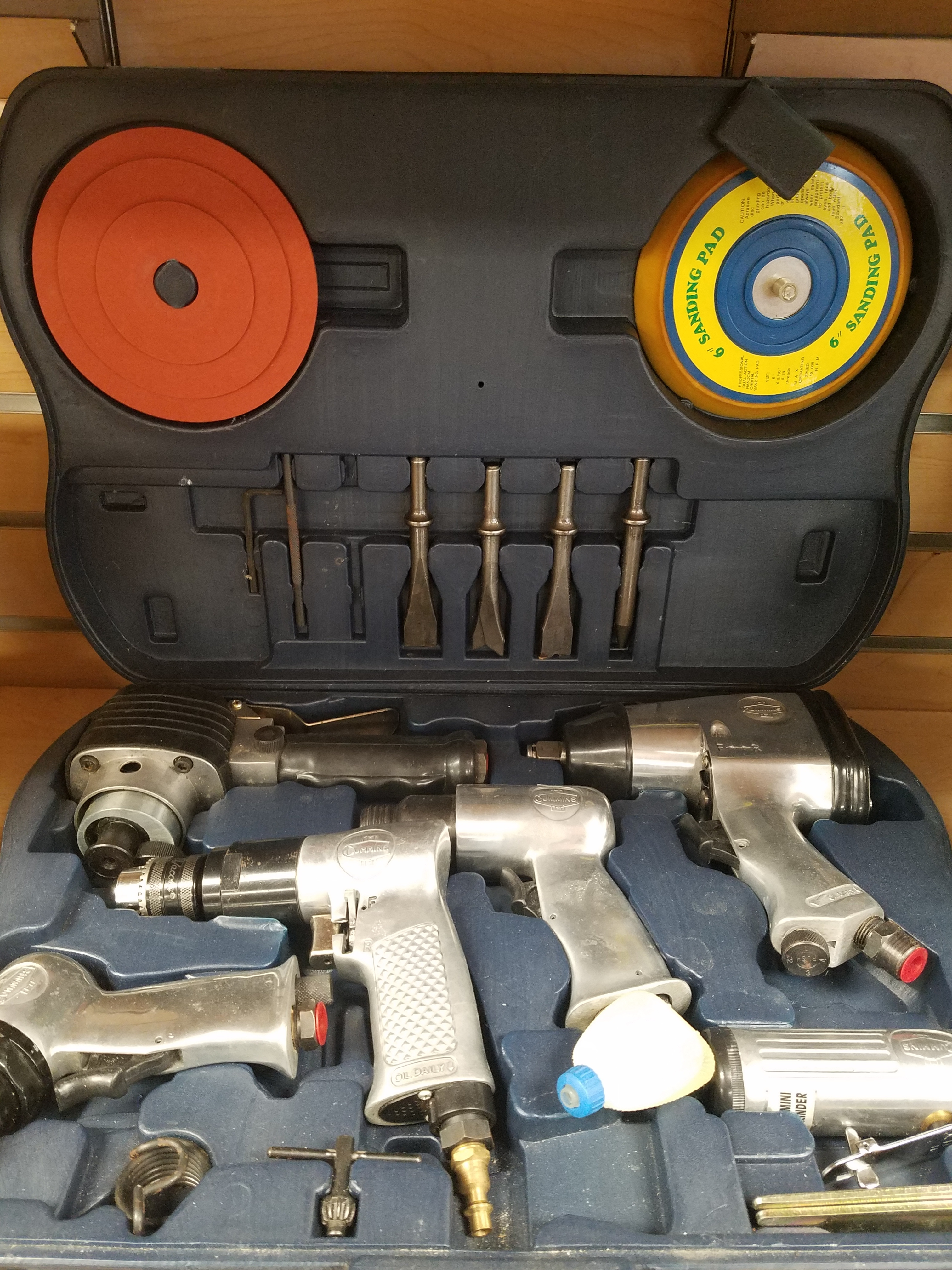 CUMMINS 5 PIECE AIR TOOL SET