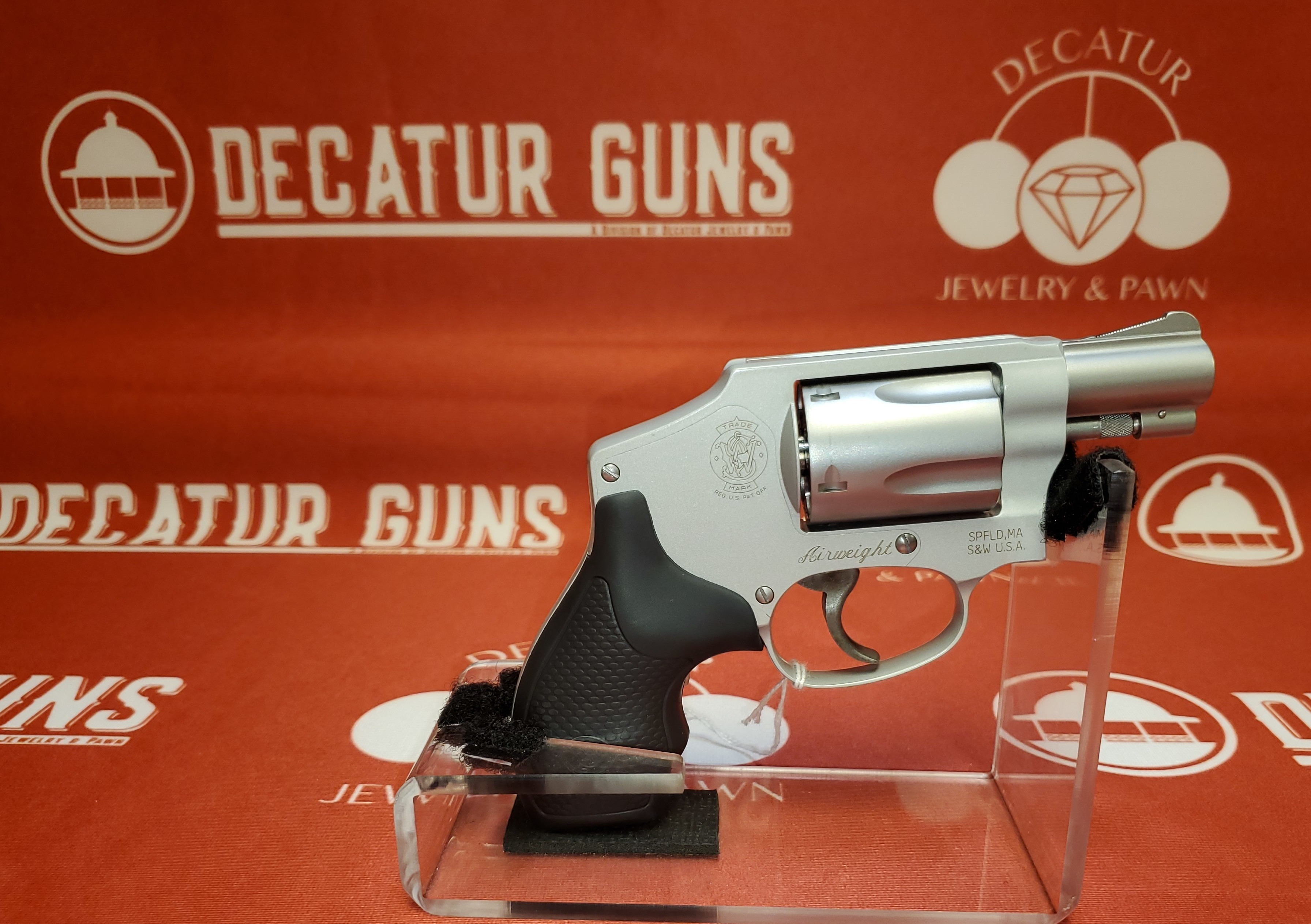 SMITH & WESSON  642-2 AIRWEIGHT - .38 SPECIAL + P REVOLVER