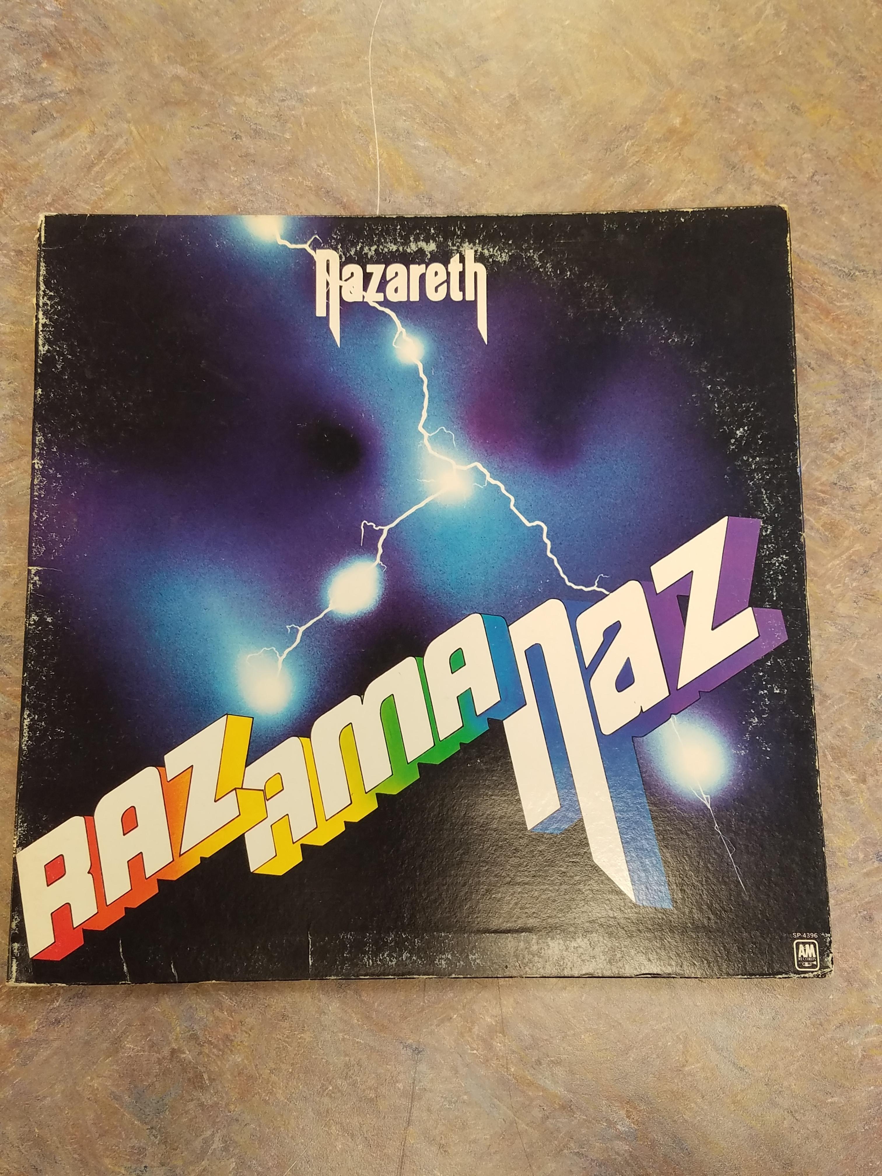 NAZARETH RAZAMANAZ VINYL ALBUM