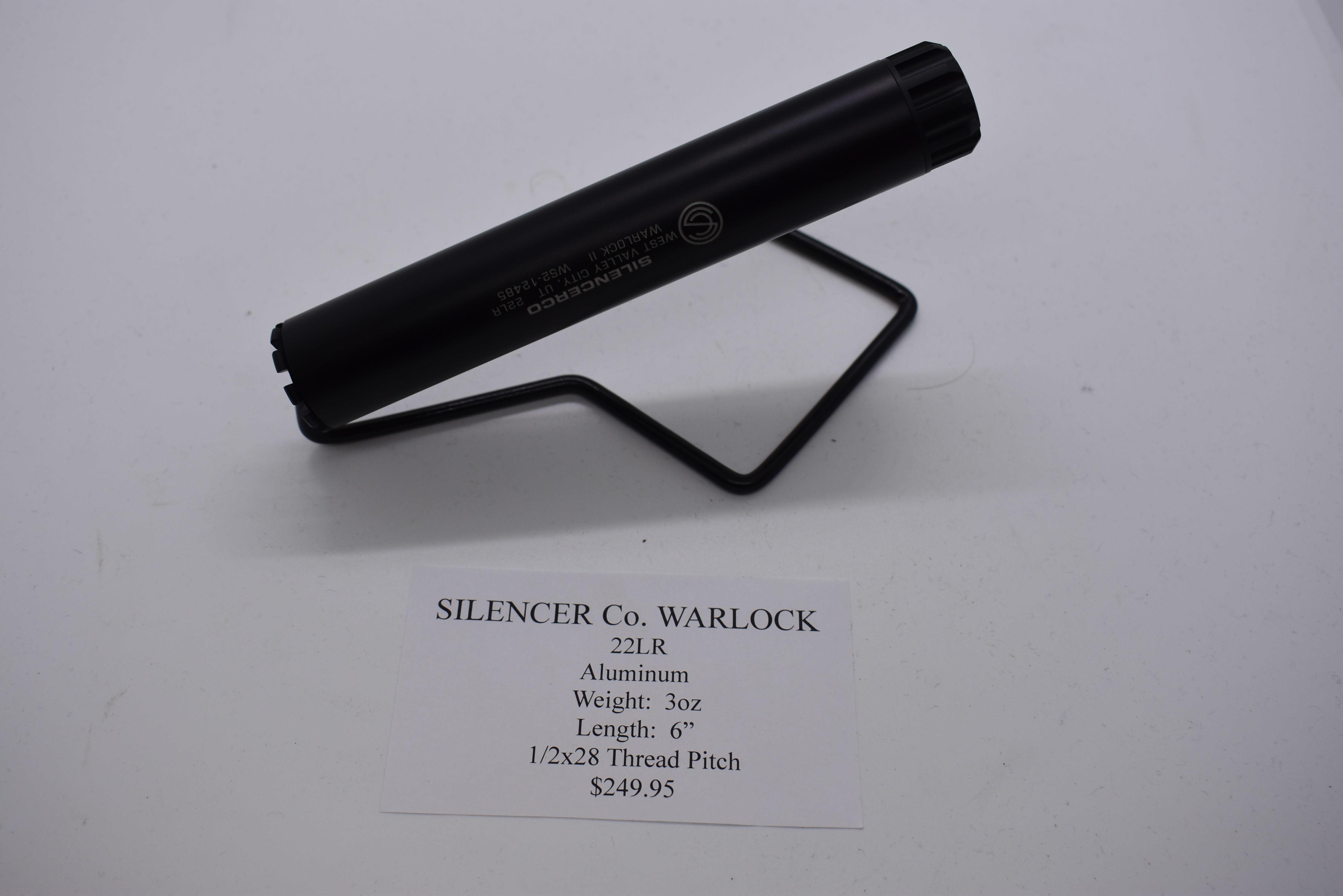 SILENCER CO - WARLOCK - SILENCER NFA