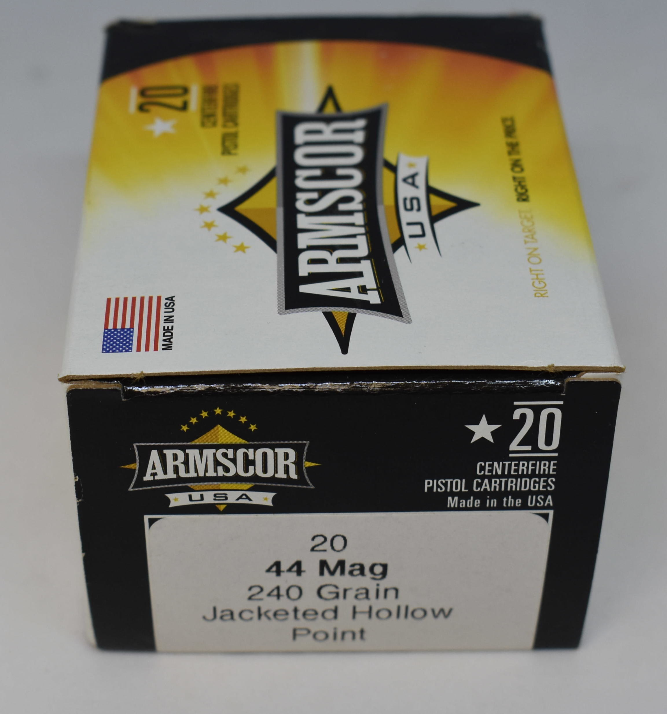 ARMSCOR - 44mag - AMMUNITION SPORTING EQUIPMENT