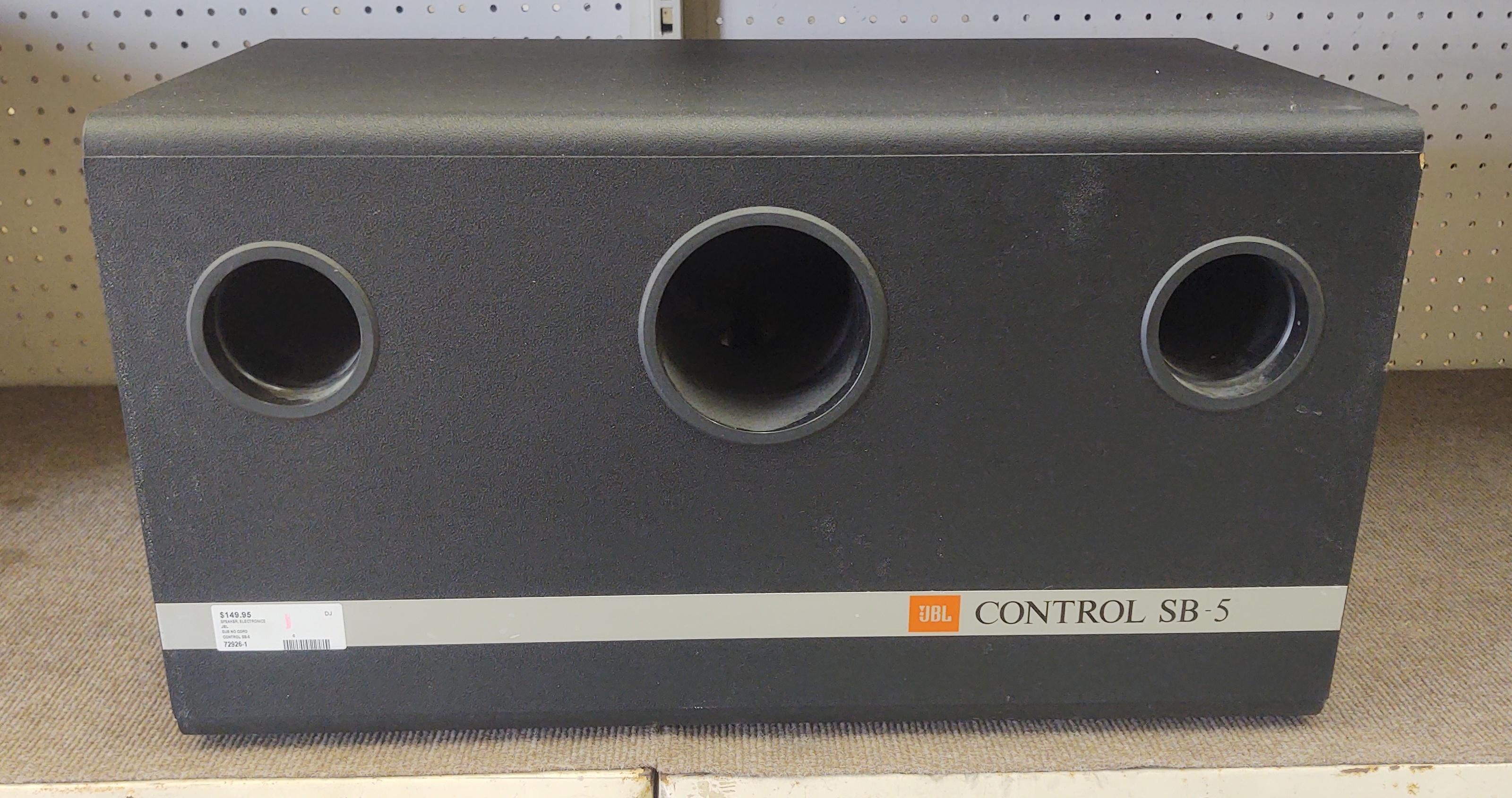 JBL - CONTROL SB-5 - SPEAKER ELECTRONICS SUB