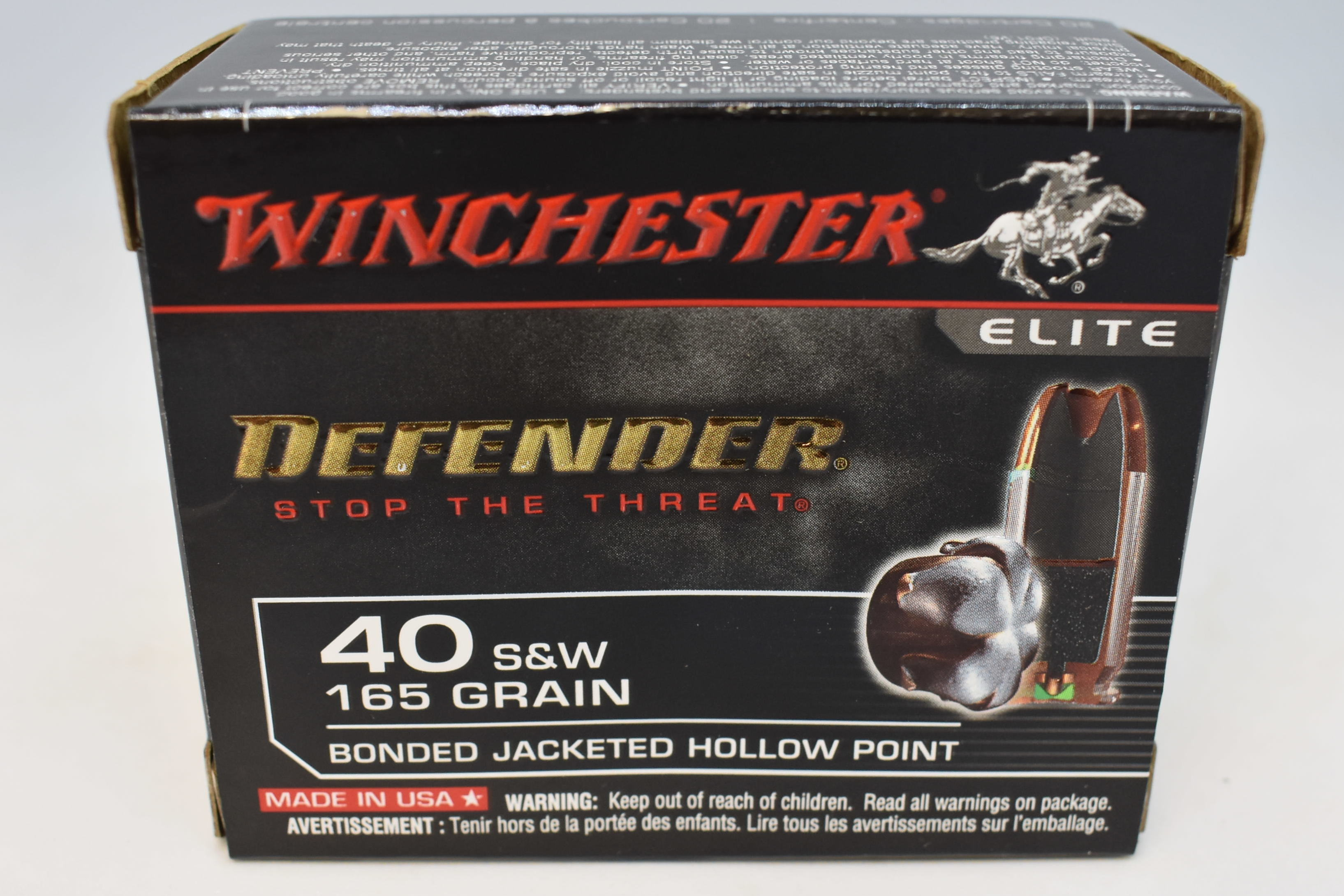 WINCHESTER - 40 - AMMUNITION SPORTING EQUIPMENT