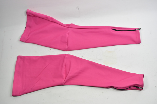 Verge Women/'s Fleece Cycling Leg Warmers Pink Size XL New Old Stock