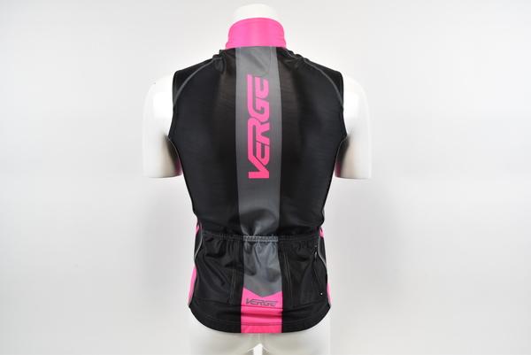 Black//Pnk//Grey Medium Brand New Verge Elite Women/'s Warsaw Winter Cycling Vest