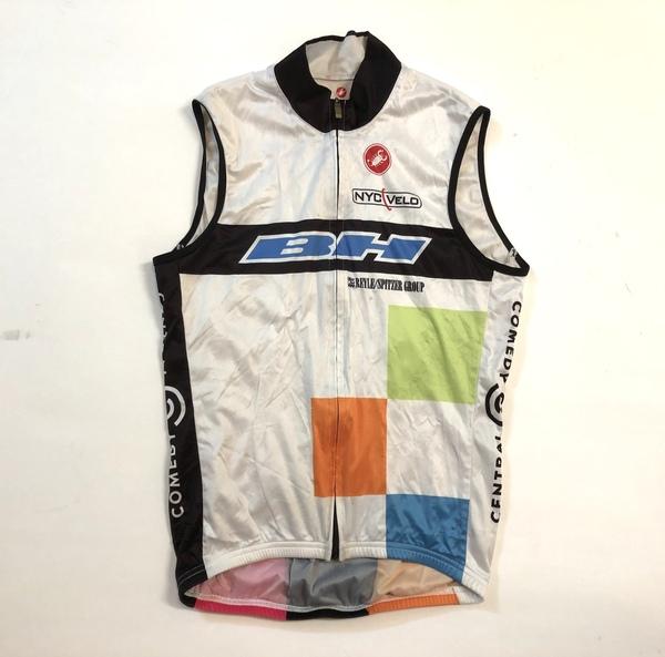Castelli Leggero Men/'s Cycling Vest White XXL 3XL